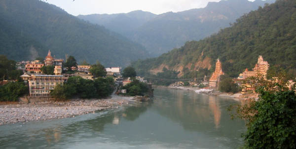 Ganga River In Rishikesh